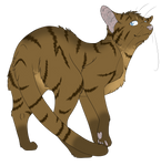 Warrior Cats #054 - Heathertail by Kuroi-Hitsuji