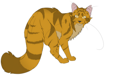 Warrior Cats #061 - Goldenflower by Kuroi-Hitsuji