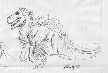 Godzilla Rex by hypergojira