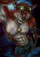 Blood Dog by Bleakcat