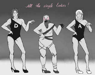 Amnesia -All the single ladies by fuzzybuzzyfuzzy
