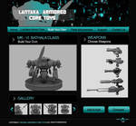 Mech toys website by jolyvie