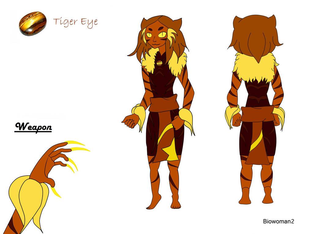 Tigers Eye Gem Cartoon Wwwtopsimagescom