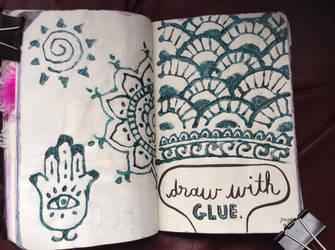 WTJ - Draw with Glue by xxblackengelxx