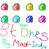 Icon rainbow Stones for RPG maker VX Ace! by Mad-Indy
