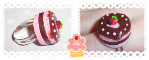 chocolate dipped strawberry by neko-crafts