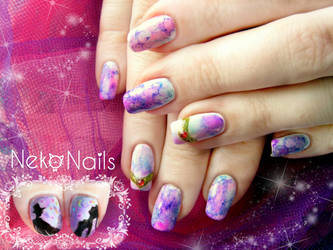Sailor moon nails by neko-crafts