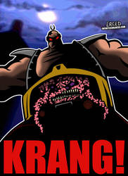Cartoon Villains - 003 - Krang! by CreedStonegate