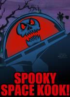 Cartoon Villains - 028 - Spooky Space Kook! by CreedStonegate