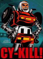 Cartoon Villains - 053 - Cy-Kill! by CreedStonegate