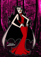 Vampira from the Drak Pack! by CreedStonegate