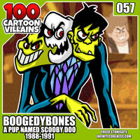 100 Cartoon Villains - 057 - Boogedy Bones! by CreedStonegate