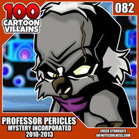 100 Cartoon Villains - 082 - Professor Pericles! by CreedStonegate