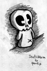 DeathWorm sketch by qantip