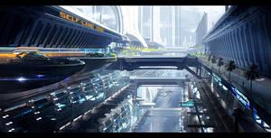 Terra Landing zone by Joshk92