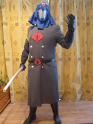 Cobra Commander Costume Visor by PatrickGavin