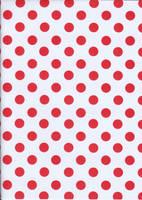 Red Polka Dots by BelovedStock