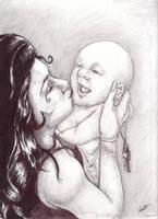 Death kisses Life by Embre-Plume