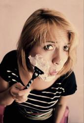 shaving by jojobatanesi