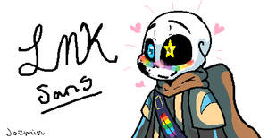 Inky!sans by JazminTheSkeleton