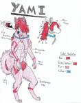 Yami anthro reference sheet by Kamari-Inuzuka