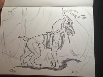 Forest Creature by Kamari-Inuzuka