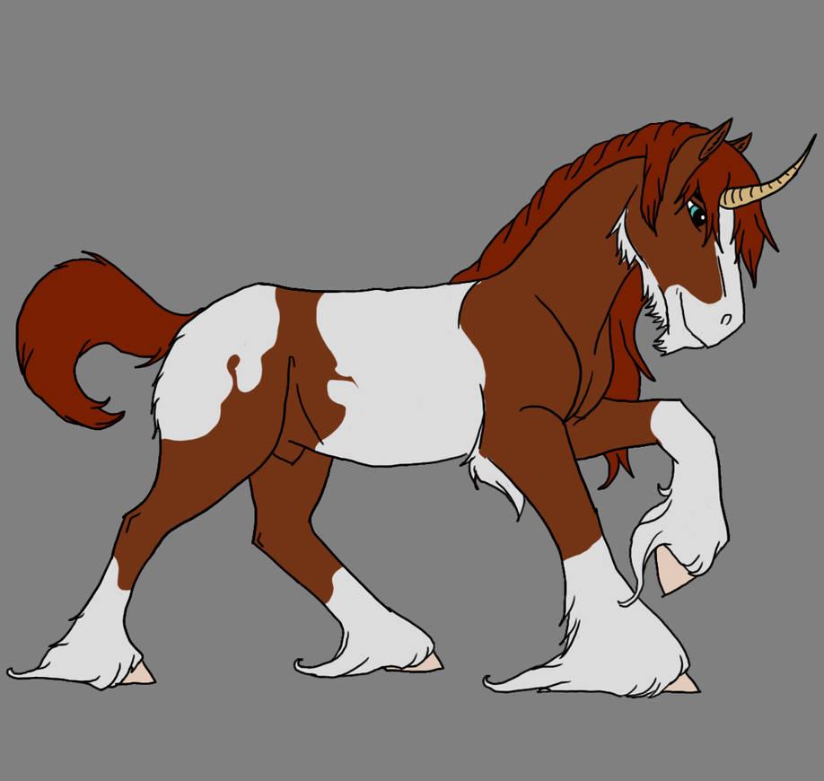 Shire Unicorn by Kamari-Inuzuka