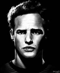 Marlon Brando by nathandetroit7