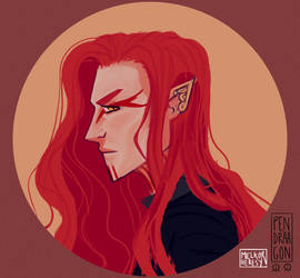 Mairon from Silmarillon by Pendraagon