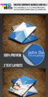 Creative Corproate Business Card Vol 2 by jasonmendes