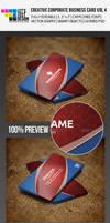 Creative Corproate Business Card Vol 4 by jasonmendes