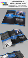 Creative Corporate Tri-Fold Brochure Vol 11 by jasonmendes