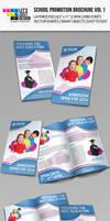 School Promotion Bi-Fold Brochure Vol 1 by jasonmendes