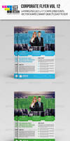 Corporate Flyer Template Vol 12 by jasonmendes