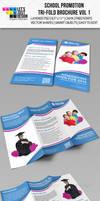 School Promotion Tri-Fold Brochure Vol 1 by jasonmendes