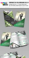 Creative Corporate Bi-Fold Brochure Vol 34 by jasonmendes