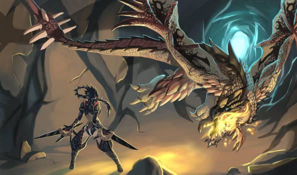 Monster Hunter - Solo Hunt by es-jeruk