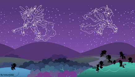 MLP : Constellation of heaven by hotsun6392