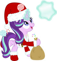 Santa Claus Starlight Glimmer by hotsun6392