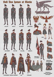 Nazy uniforms - part II by non-nobis-domine