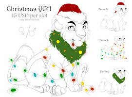 Christmas YCH - OPEN by Ale-Tie