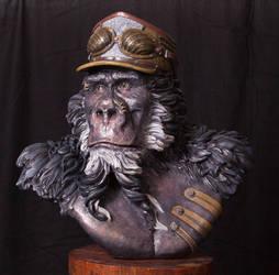 SteamPunk Gorilla by renemarcel27