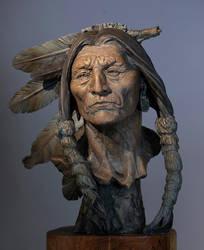 Old Wisdom- Cheyenne by renemarcel27