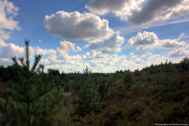 Landscape and Clouds by Creadion