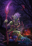 Zalli Dawnburner of the Goremound Tribe by MichaelPatrick42