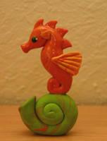 Seahorse by Myyshka