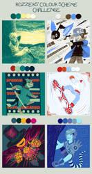 Color Scheme Challenge DONE by Zucon