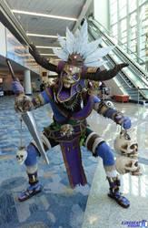 Diablo 3: Witch Doctor Cosplay by CasteelArt