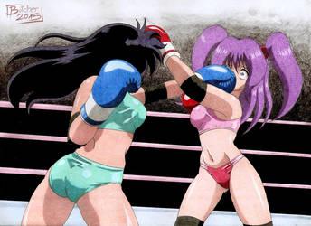 Aome vs Harusumi 1 by ButcherStudios