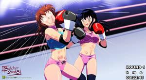 Kinari vs Aome 2 by ButcherStudios